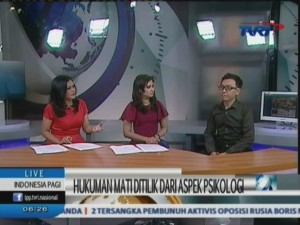 Juneman Abraham @ Indonesia Pagi - TVRI, 7 Maret 2015