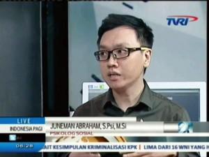 Juneman Abraham @ TVRI - Indonesia Pagi