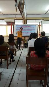 Program Pengabdian Kepada Masyarakat, kali ini Komunitas Sekolah Bunda Hati Kudus