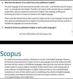 Keterangan dari Scopus