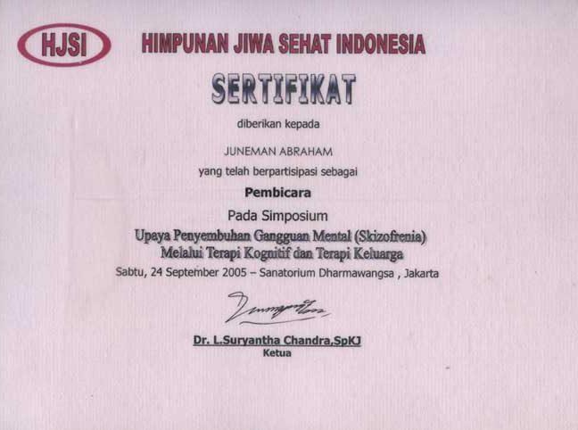 Juneman Abraham Indonesian Social Psychologist Menjelang Hari Kesehatan Jiwa Sedunia 2020